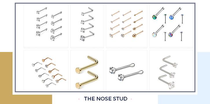 Unique nose rings