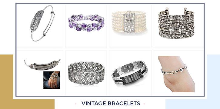 Vintage style bracelets