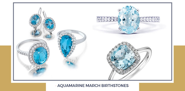 Aquamarine March Birthstones