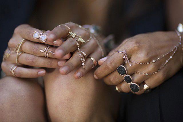 Layered Jewelry Look