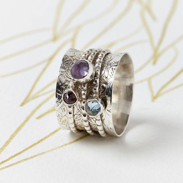 Meditation Spinner Fidget Ring