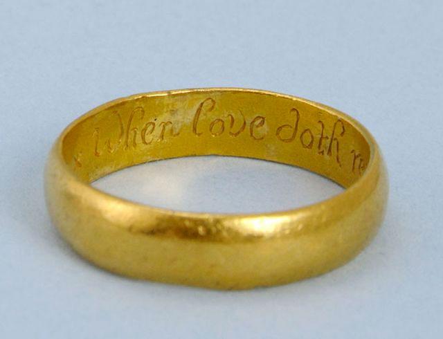Posy Ring History