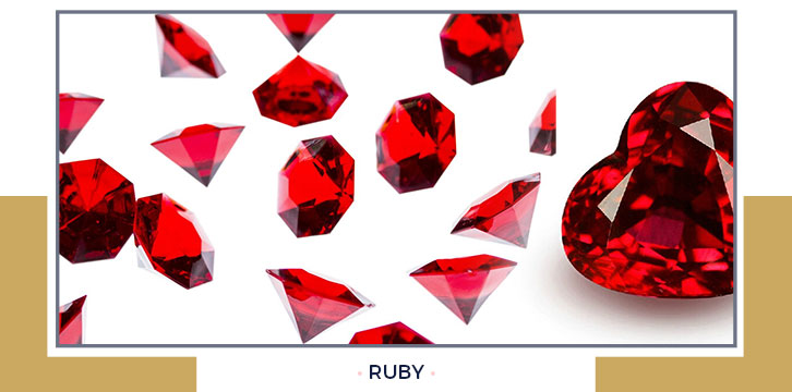 Ruby (July Birthstone)