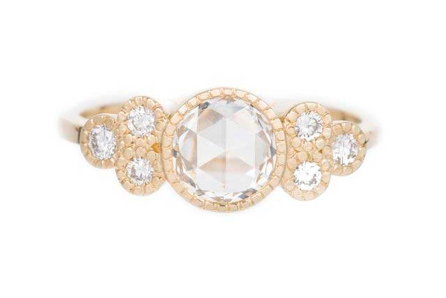 Jennie Kwon Diamond Cluster Elevate Ring