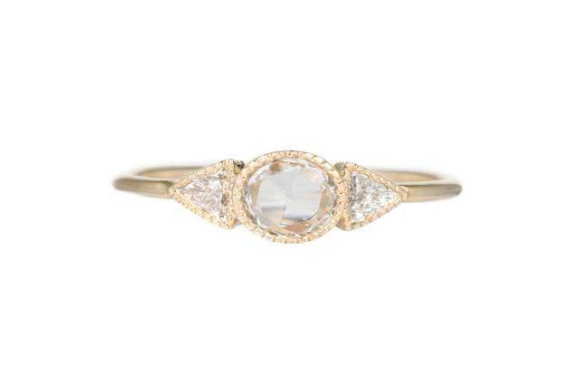Diamond Spear Ring