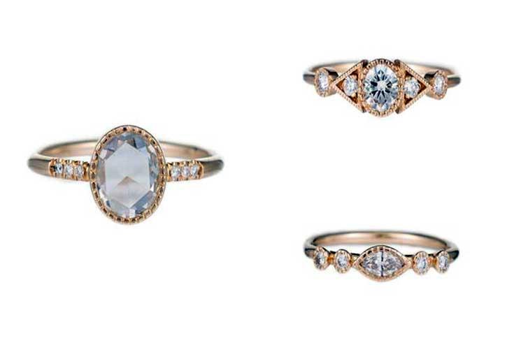 Jennie Kwon Engagement Rings