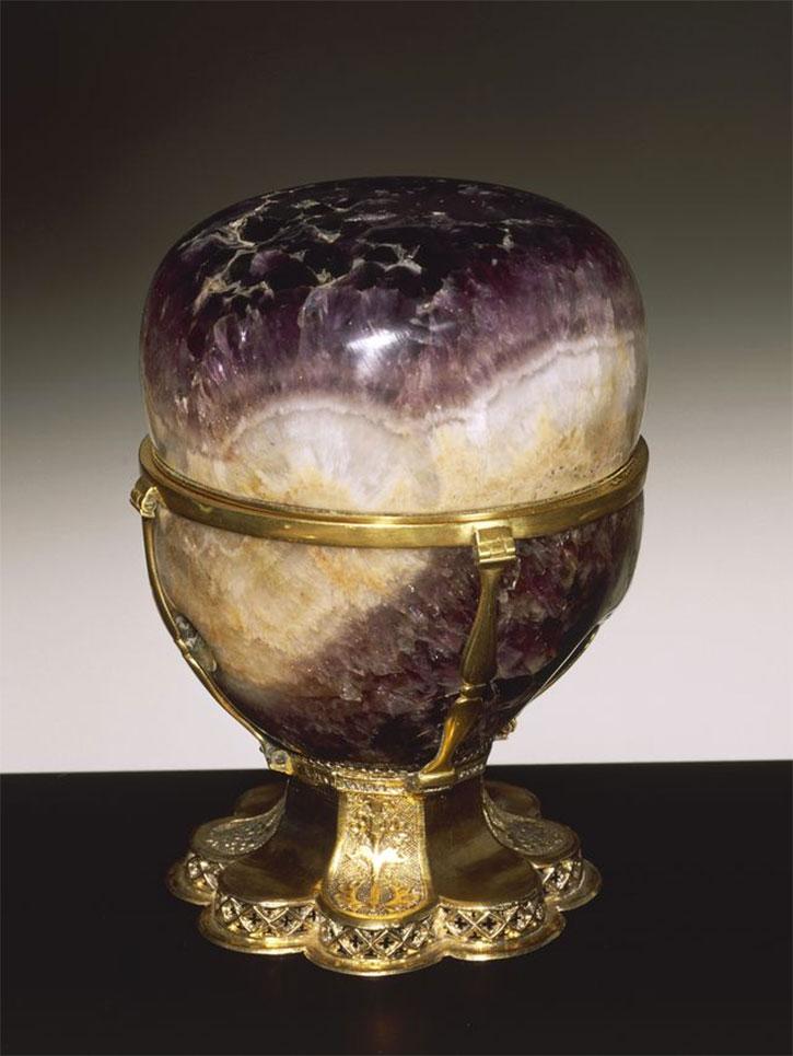 Antique Amethyst Vase