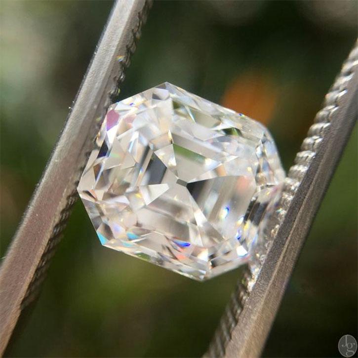 Antique Asscher Cut Diamond