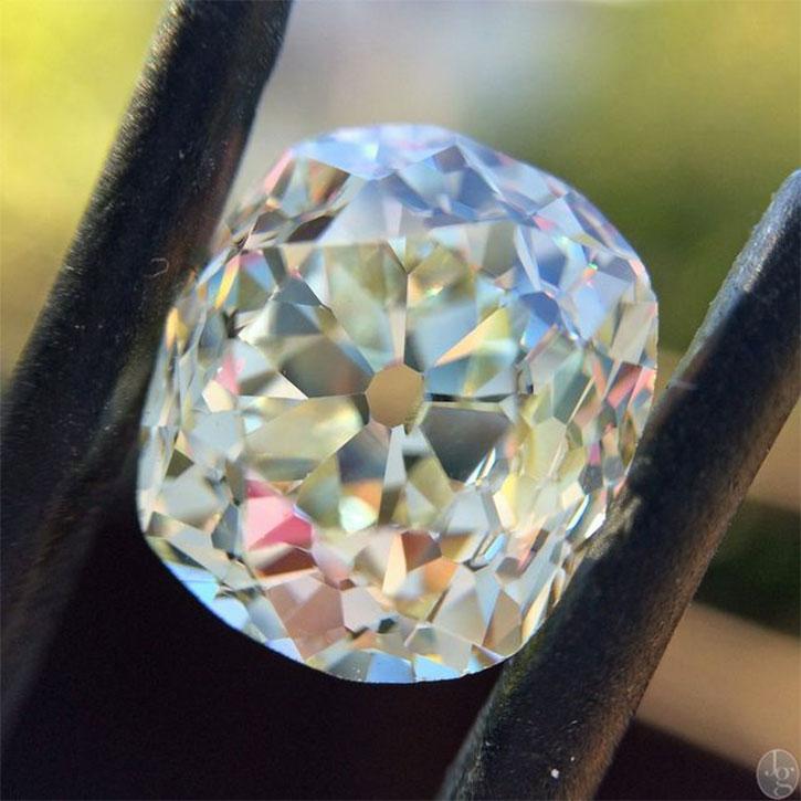 Antique Cushion Cut Diamond