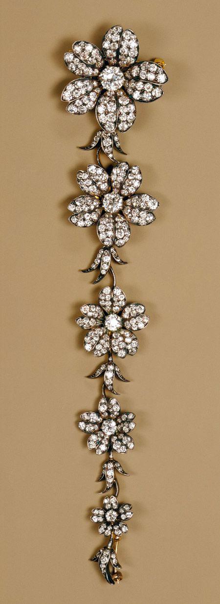 Antique Diamond Corsage Piece