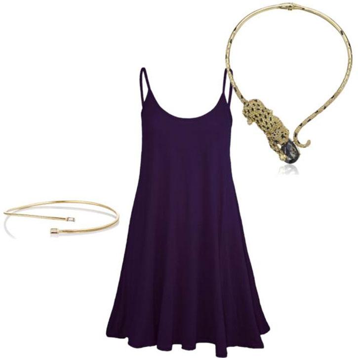 Betsey Johnson Leopard Necklace