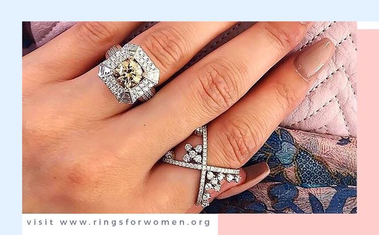 Chocolate Diamond Rings by Vogue Bride