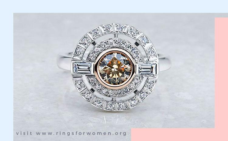 Chocolate Diamonds Rings