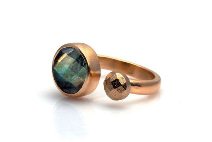 Labradorite Stacking Ring