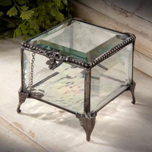 Devlin Beveled Glass Boxes