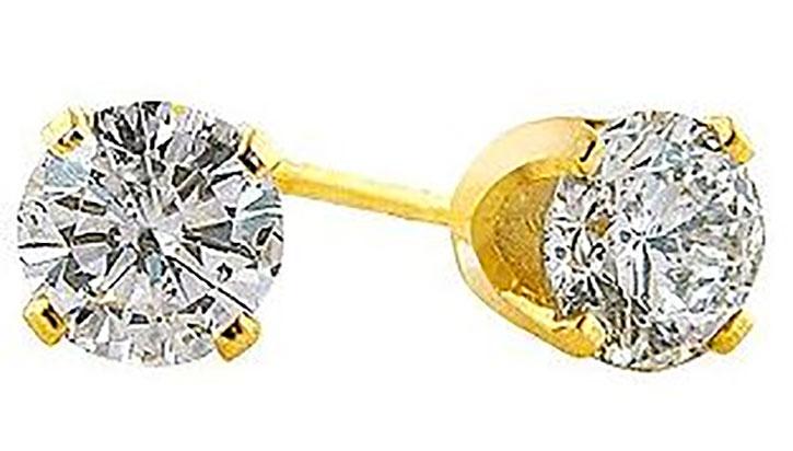 Diamond Stud Earrings under 150