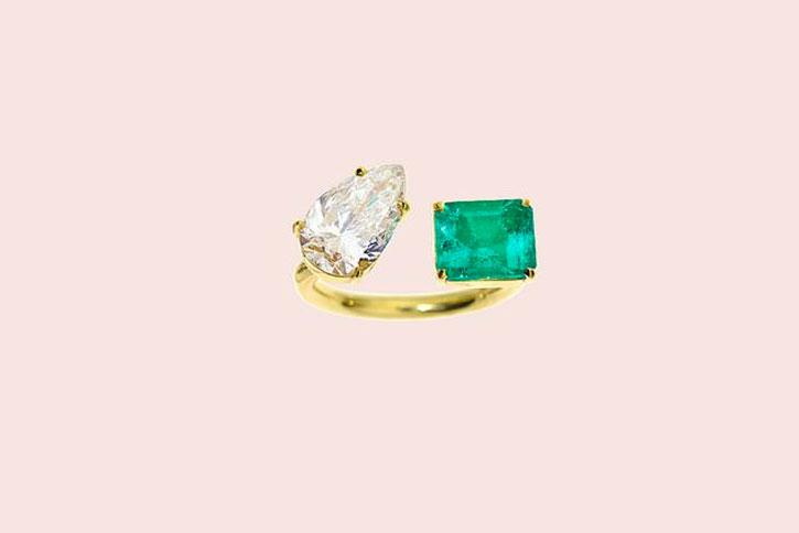 Emerald Engagement Rings Jemma Wynne