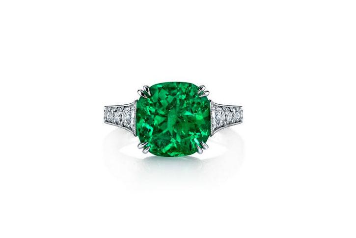 Emerald Engagement Rings Omi Prive