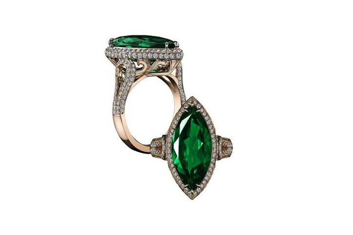 Robert Procop Emerald Engagement Rings