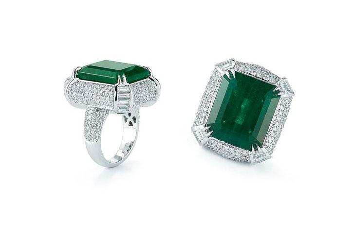 Emerald Engagement Rings Takat