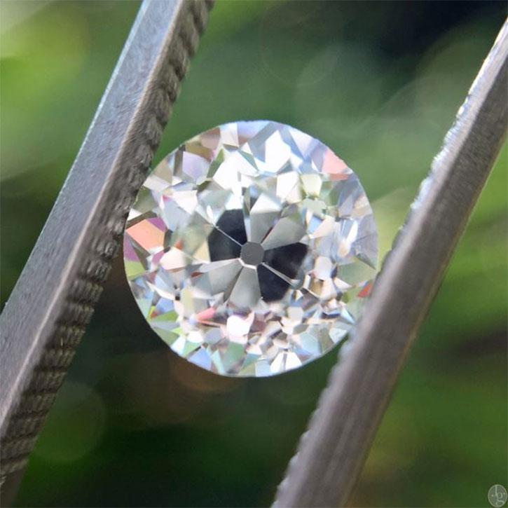Old Mine Cut Diamond