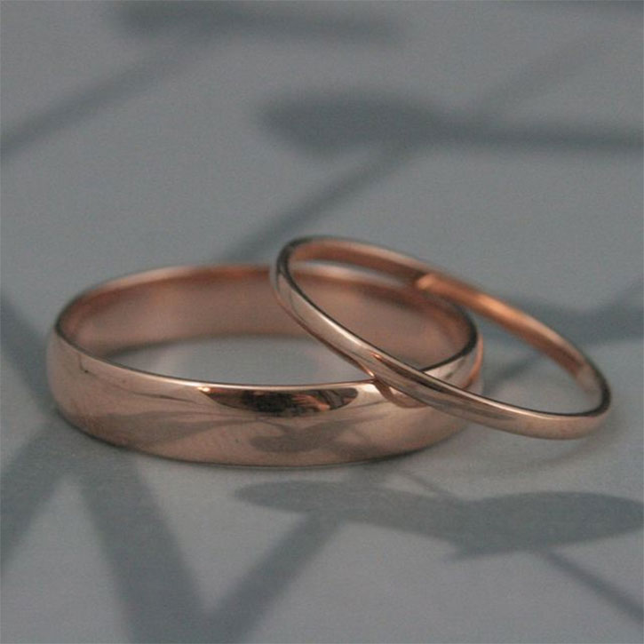 Thick and Thin Wedding Bands