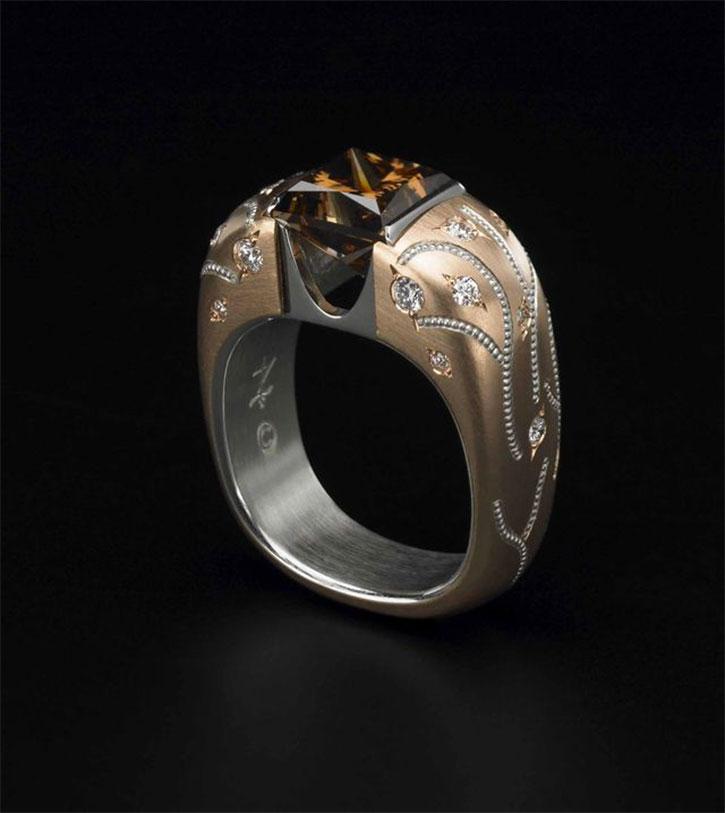 Zoltan David engagement ring