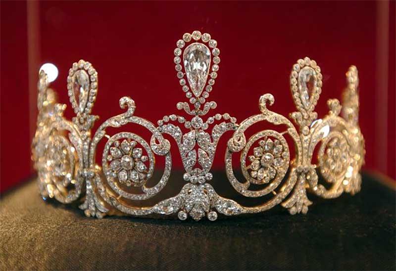 Cartier Diamond Tiara