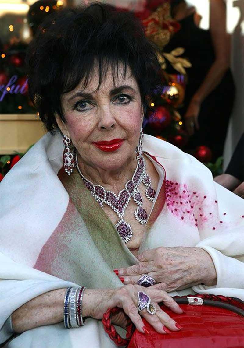 Elizabeth Taylor Ruby Jewelry