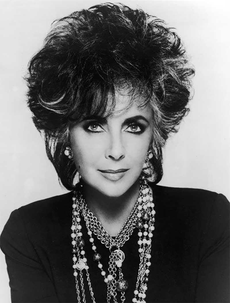 Elizabeth Taylor in 1988