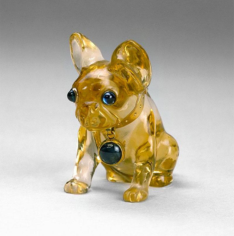 Fabergé Bulldog Pendant
