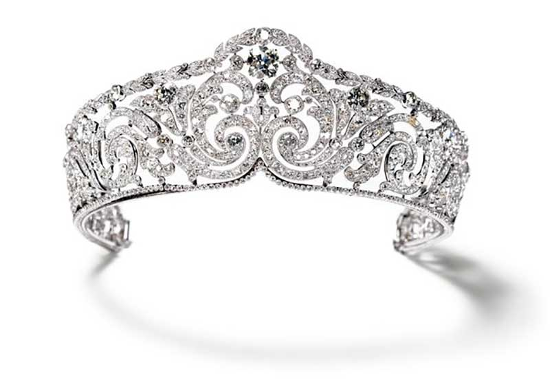 Queen Elisabeth of Belgium's Cartier Tiara