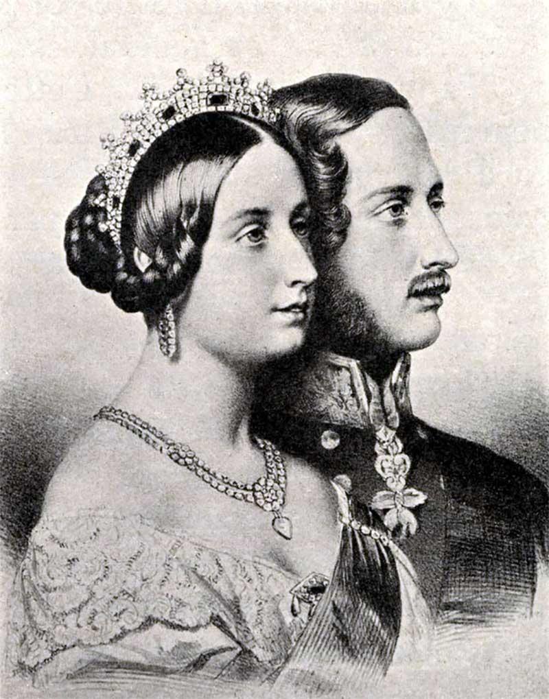Queen Victoria's Sapphire and Diamond Coronet