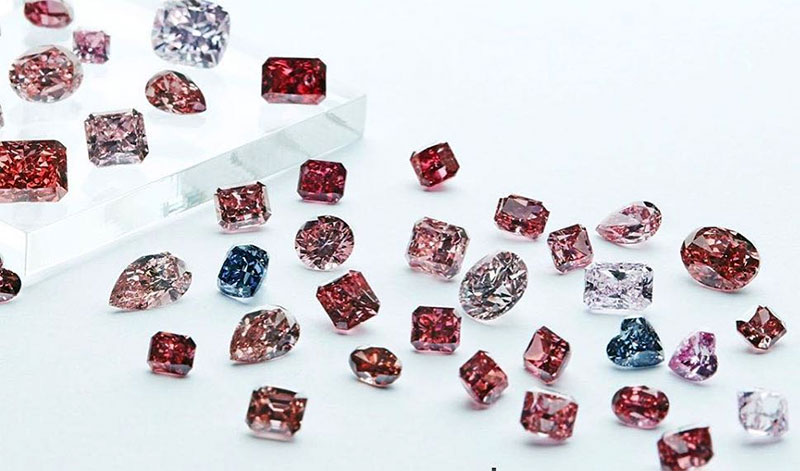 Fancy Pure Pink Diamonds