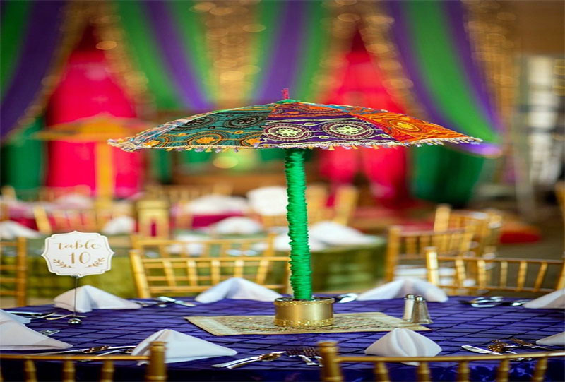 Umbrellas Centrepieces