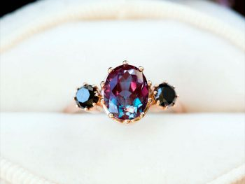 Alexandrite Ring Effect