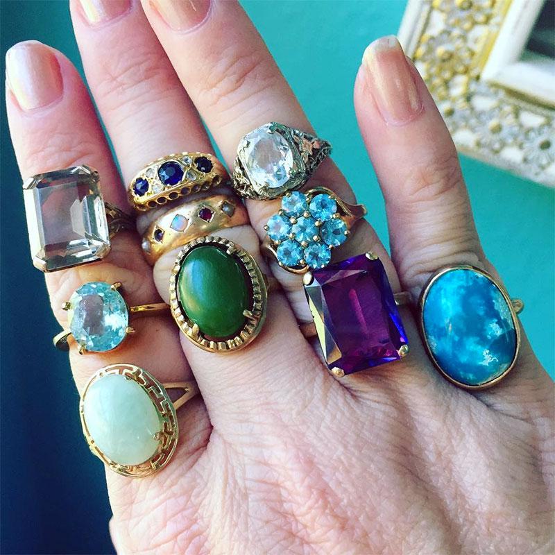 Alexandrite Rings