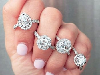 Cubic Zirconia Wedding Sets