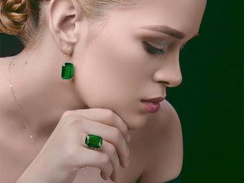 Emerald Birthstone Jewelry