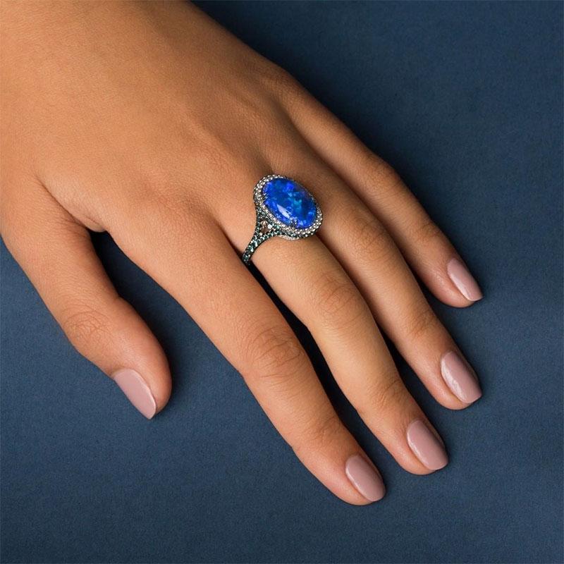 Genuine Alexandrite Rings