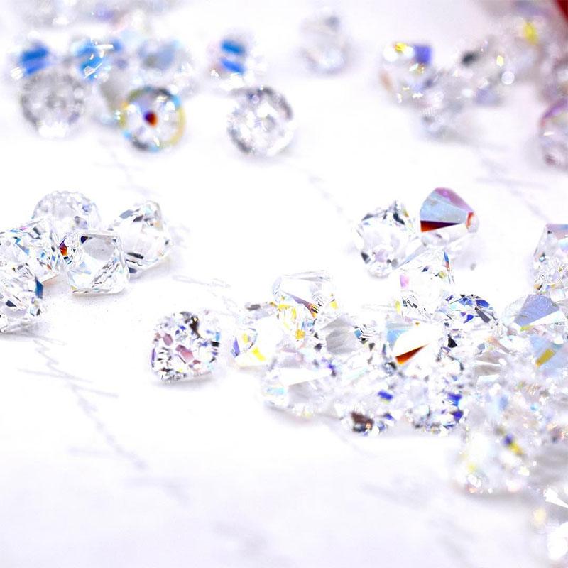 Shapes of Swarovski Crystal Beads