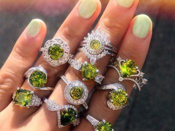 Peridot Rings