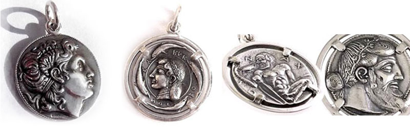 Greek Coin Jewelry