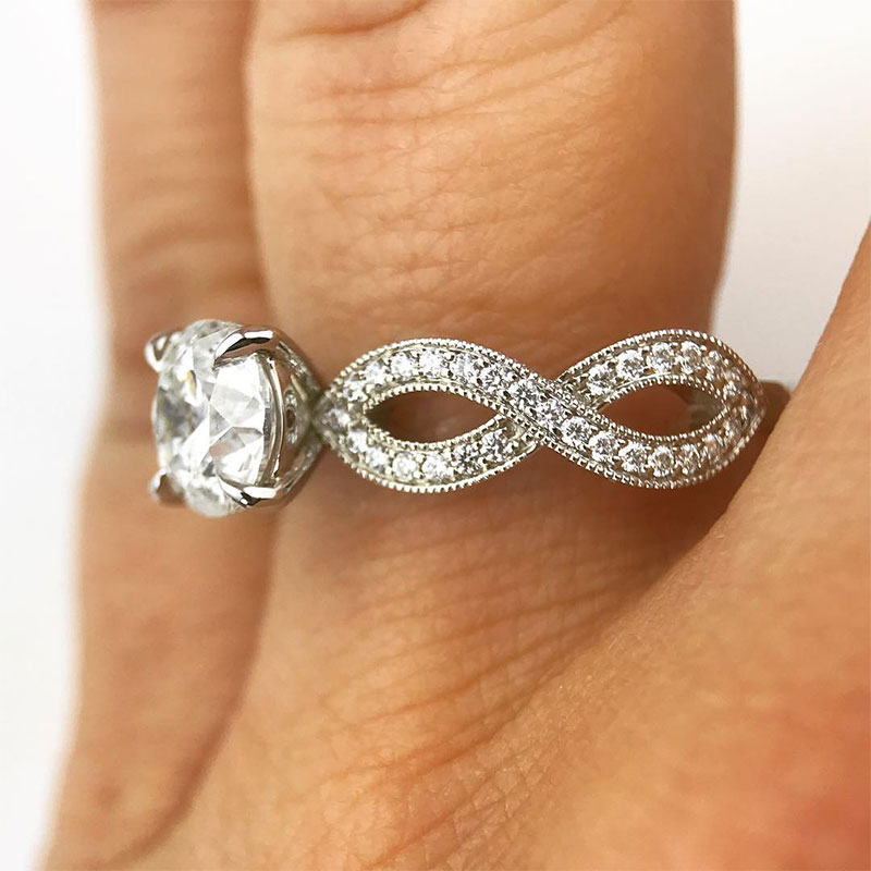 Cheap infinity rings