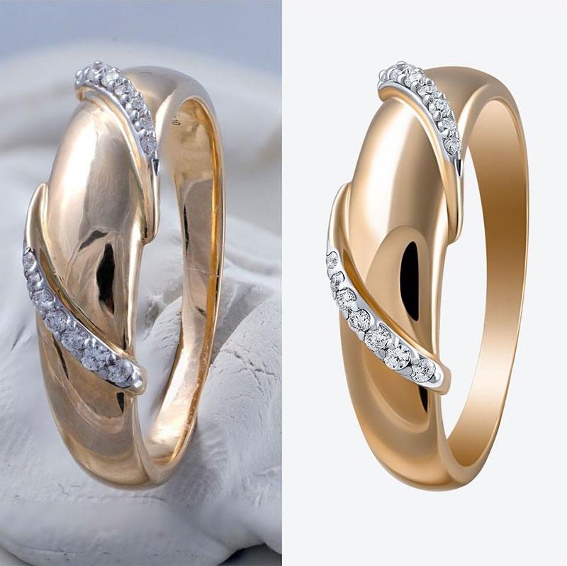 retouch jewelry photo