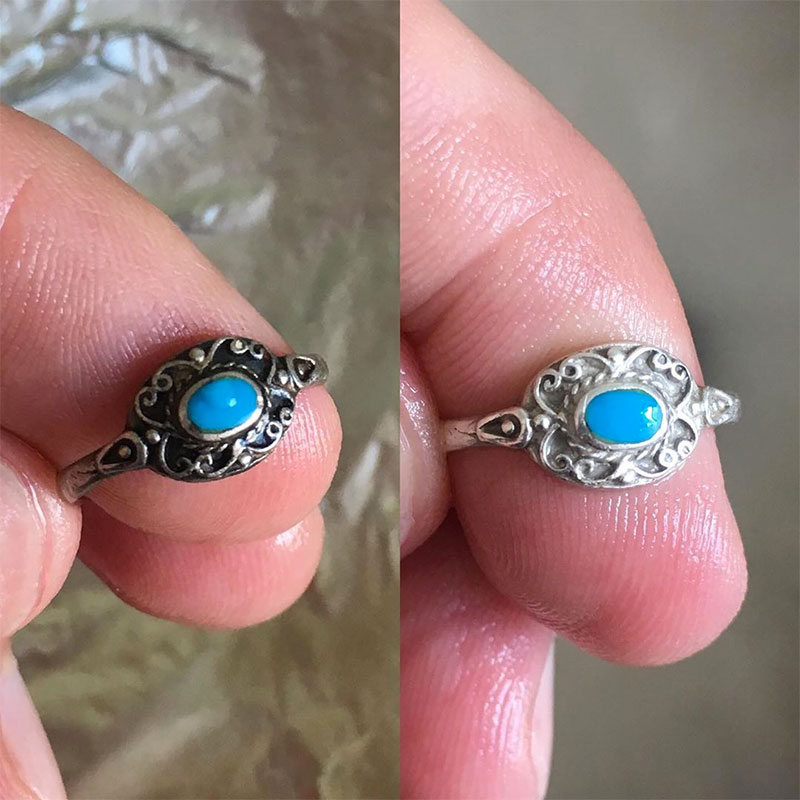 Cleaning Antique Jewellery At Home
