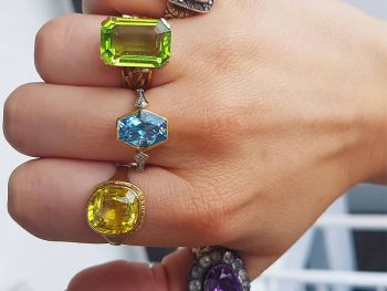 Colored Gemstones for Engagement Rings