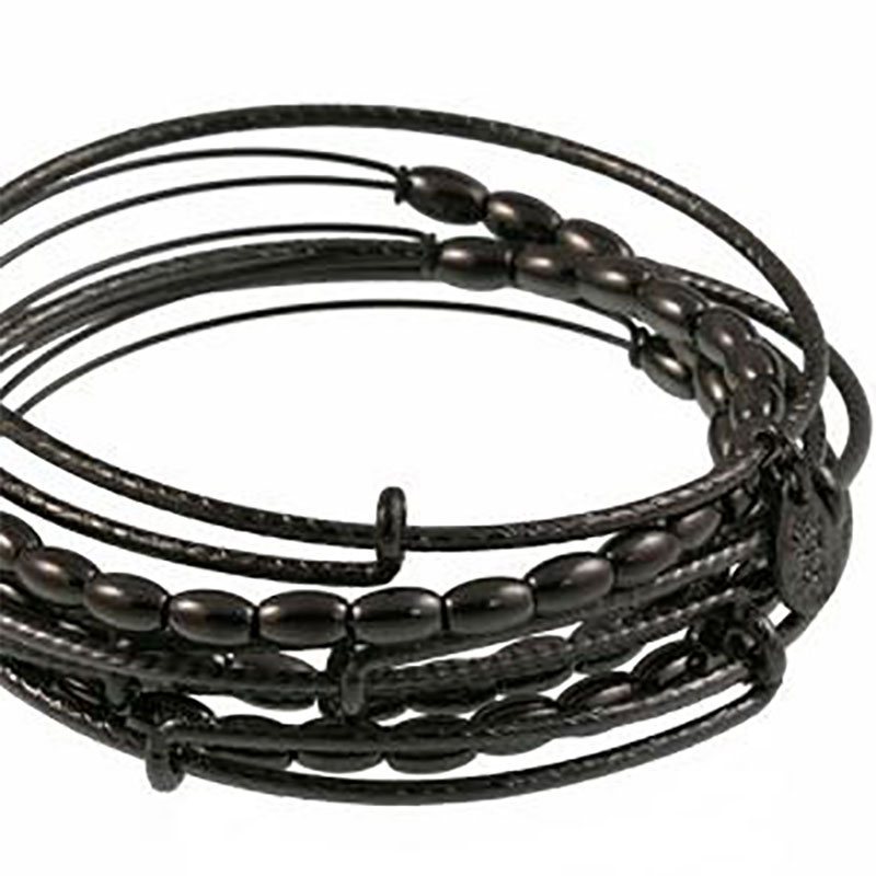 Jordan Beaded Expandable Wire Bangle Set