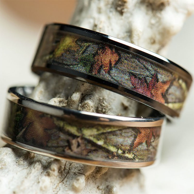 Camo Wedding Ring