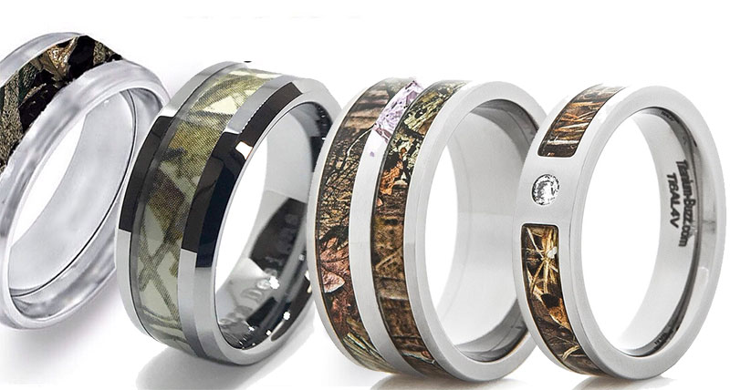 Types of Camo Rings